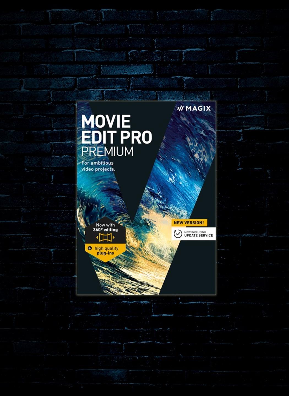 MAGIX Movie Edit Pro Premium Software (Download)