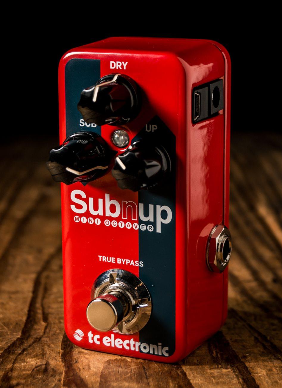 TC Electronic Sub /'N/' Up Mini Octave pedal