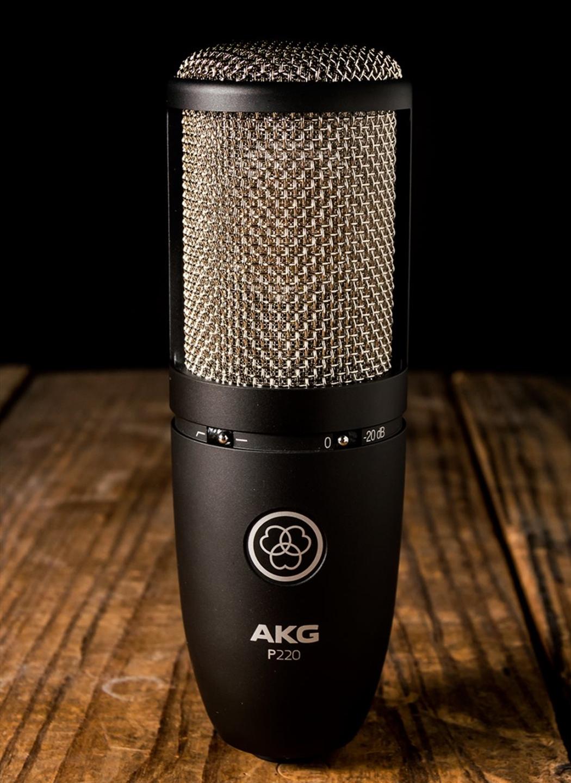 Akg Perception 220 Large Diaphragm Condenser Microphone Ribbon Diagram