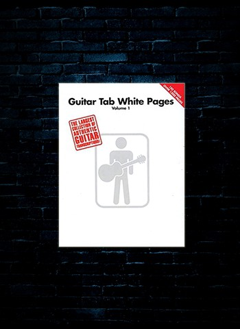 Guitar Tab White Pages - Vol 1