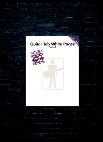 Guitar Tab White Pages Vol 3