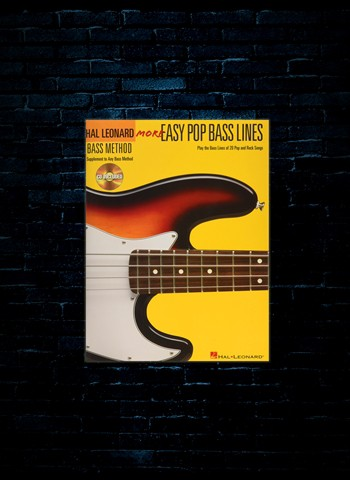 More Easy Pop Bass Lines w/CD