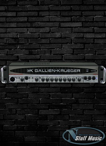 Gallien-Krueger 1001RB II Bass Head - Rental