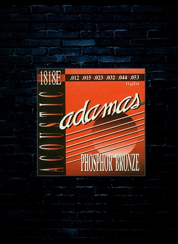 Adamas 1818E Phosphor Bronze Acoustic Strings - Light (12-53)