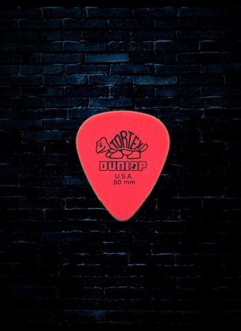 Dunlop 418 - .50mm Tortex Standard Guitar Pick (72 Pack)