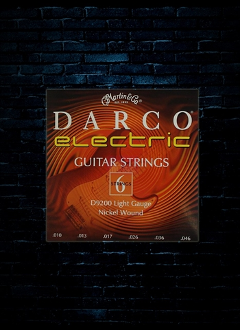 Darco D9200 Nickel Wound Electric Strings - Light (10-46)
