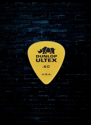 Dunlop .60mm Ultex Standard Guitar Pick (6 Pack)