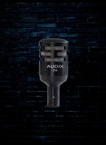 Audix D6 Cardioid Dynamic Instrument Microphone