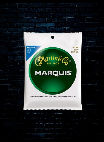 Martin M1200 Marquis 80/20 Bronze Acoustic Strings - Medium (13-56)