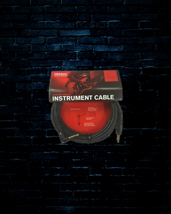 Planet Waves PW-GRA-10 - 10' Custom Series Right Angle Instrument Cable