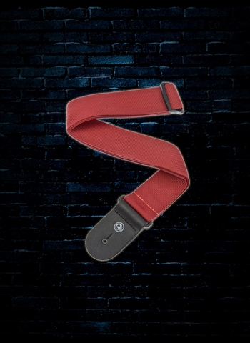 Planet Waves PWS101 Polypropylene Guitar Strap - Red
