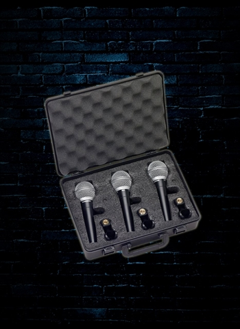 Samson R21 - Dynamic Vocal Microphone (3-Pack)