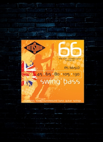 Rotosound RS665LD Swing Bass 66 Stainless Steel Strings - 5-String (45-130)