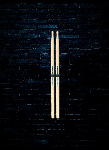 Promark TXR5AW Hickory 5A Natural Finish Wood Tip Drum Sticks