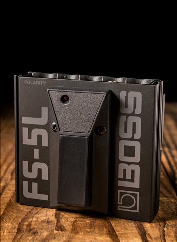 BOSS FS-5L Latch-Type Footswitch Pedal