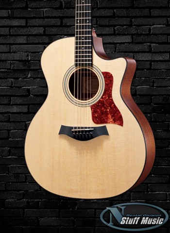 Taylor 314ce Solid Top Acoustic Guitar - Rental