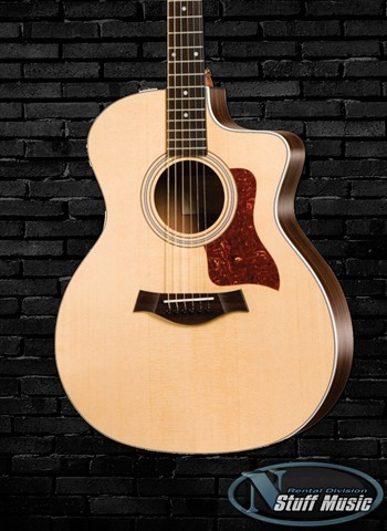 Taylor 214CE Solid Top Acoustic Guitar - Rental