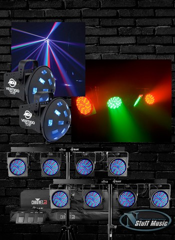DJ Lighting Package 2 - Rental