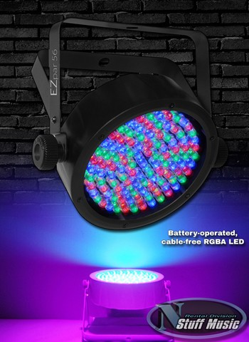 Chauvet EZ par 64 LED Wash Light - Rental