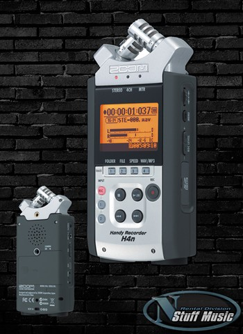 Zoom H4n Handy Recorder - Rental