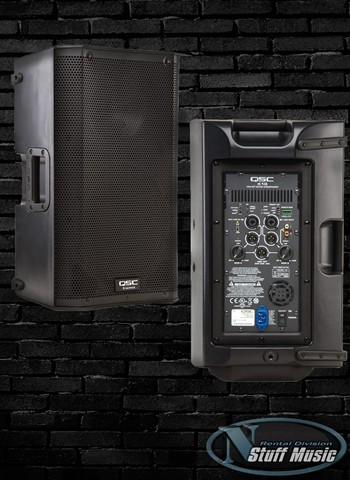 "QSC K10 - 1000 Watt Powered 10"" PA Speaker - Rental"