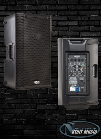 "QSC K12 - 1000 Watt Powered 12"" PA Speaker - Rental"