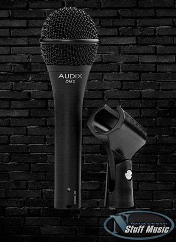 Audix OM2 Dynamic Vocal Microphone - Rental