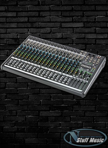 Mackie PROFX22v2 22-Channel Compact Effects 4 Bus Mixer with USB - Rental