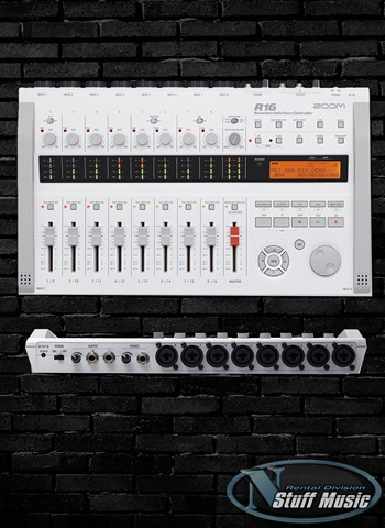 Zoom R16 8 Track Digital Recorder, Interface and Controller - Rental