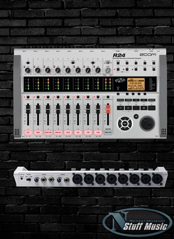 Zoom R24 24 Track Digital Recorder, Interface, Controller and Sampler - Rental