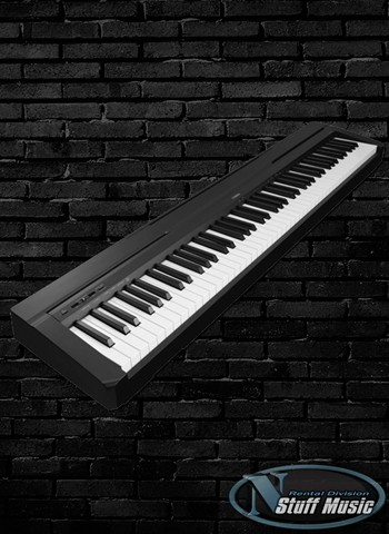 yamaha p 115b 88 key digital piano rental. Black Bedroom Furniture Sets. Home Design Ideas