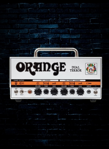 Orange Amps DUAL TERROR - 30/15/7 Watt Guitar Head - White