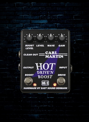 Carl Martin Hot Drive'n Boost Distortion Pedal