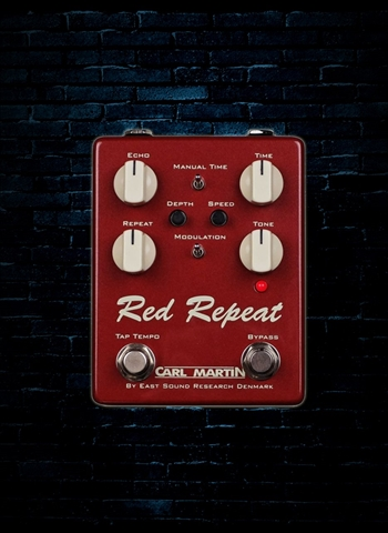 Carl Martin Red Repeat Delay Pedal