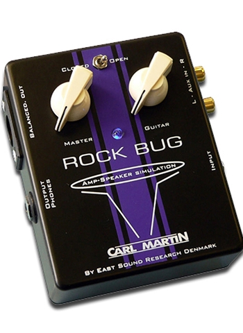 Carl Martin Rock Bug Guitar Amp/Speaker Simulator