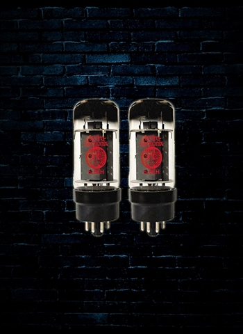Electro-Harmonix 6L6GC Matched Pair Power Vacuum Tubes