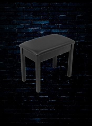 On Stage KB8902B Flip-Top Piano Bench - Black