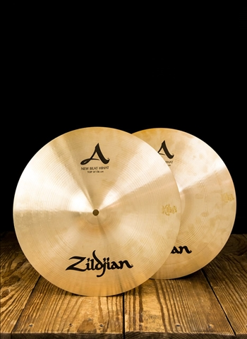 "Zildjian A0133 - 14"" A Series New Beat Hi-Hats"