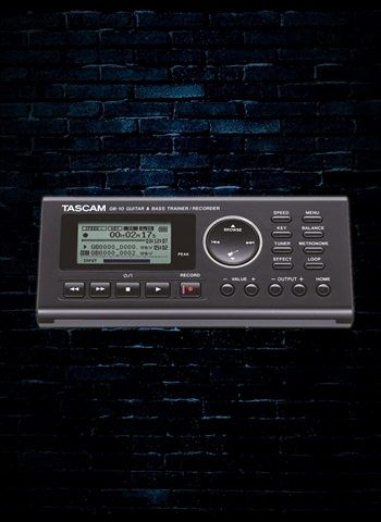 TASCAM GB-10 Guitar/Bass Trainer