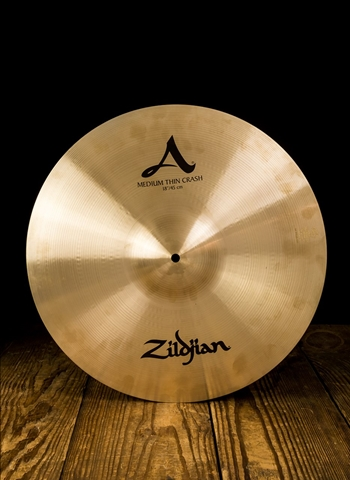 "Zildjian A0232 - 18"" A Series Medium Thin Crash"