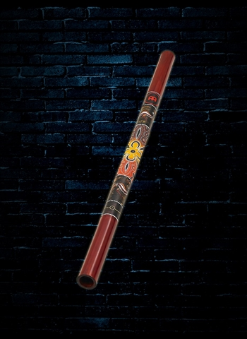 "Meinl DDG1-R - 47"" Wood Didgeridoo - Red"