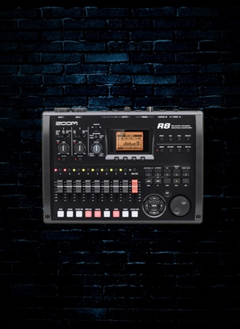 Zoom R8 - 8-Track Digital Recorder/Interface/Controller/Sampler