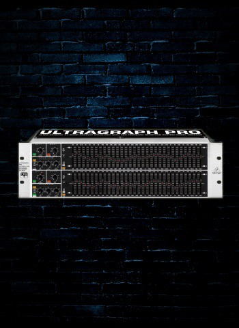 Behringer ULTRAGRAPH PRO FBQ6200 - 31-Band Graphic Equalizer