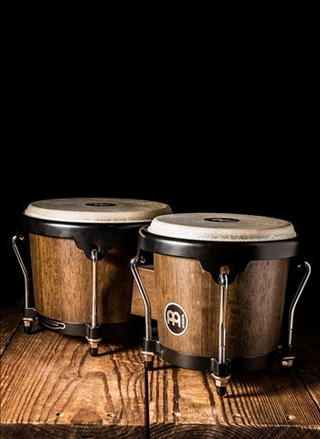 Meinl HB100VWB-M Headliner Series Wood Bongo - Vintage Wine Barrel