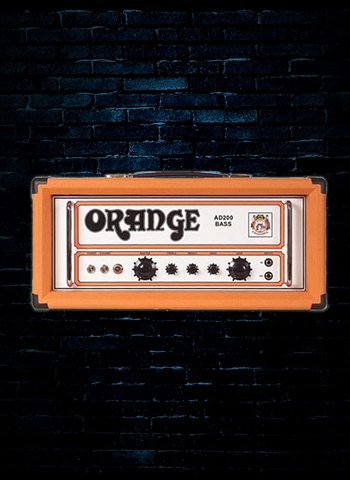 Orange AD200B - 200 Watt Bass Head - Orange