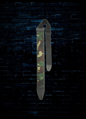 "LM Products PS-24CAM - 3"" PS Slider Cotton Guitar Strap - Camouflage"