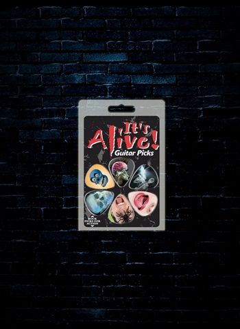 Hot Picks It's Alive Guitar Picks (6 Pack)