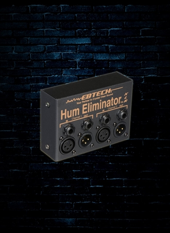 Ebtech HE-2-XLR - 2-Channel Hum Eliminator