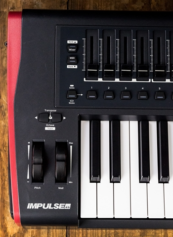 Novation Impulse 49-Key MIDI Controller