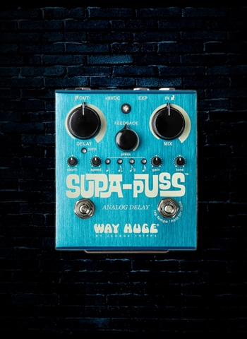 Way Huge WHE707 Supa-Puss Analog Delay Pedal